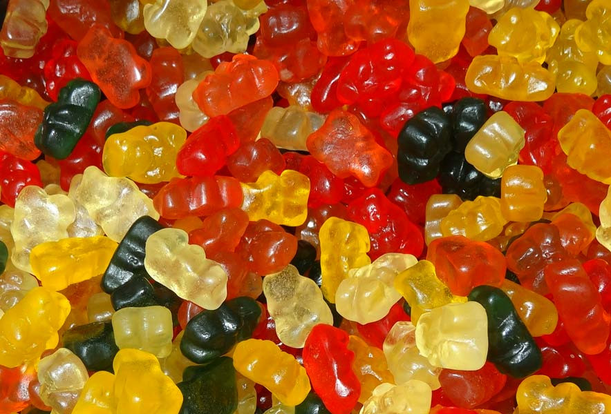 Sugar Free Gummy Bears, by Double D Confectionery,  and more Confectionery at The Professors Online Lolly Shop. (Image Number :7219)