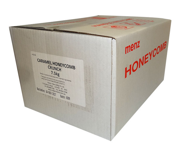 Caramel Honeycomb, by Robern Menz,  and more Confectionery at The Professors Online Lolly Shop. (Image Number :9968)