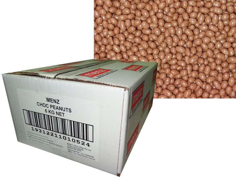 Chocolate Peanuts, by Robern Menz,  and more Confectionery at The Professors Online Lolly Shop. (Image Number :7269)