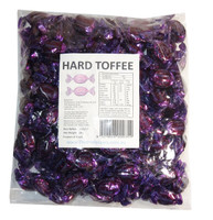 Sweet Treats Wrapped Hard Toffees - Purple - Hazelnut, by Brisbane Bulk Supplies,  and more Confectionery at The Professors Online Lolly Shop. (Image Number :7339)