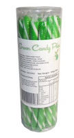 Candy Poles Jar - Green, by Brisbane Bulk Supplies,  and more Confectionery at The Professors Online Lolly Shop. (Image Number :7328)