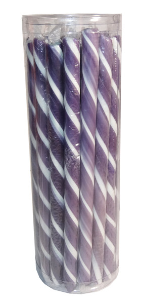Candy Poles Jar - Purple, by Brisbane Bulk Supplies,  and more Confectionery at The Professors Online Lolly Shop. (Image Number :7325)