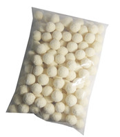 Small Apricot Balls, by Robern Menz,  and more Snack Foods at The Professors Online Lolly Shop. (Image Number :7396)
