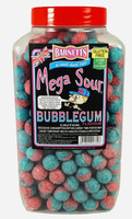 Barnetts Mega Sour Candy - Bubble Gum Flavour (3kg Jar)
