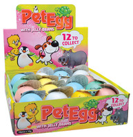 Pet Egg with Jelly Beans, by Universal Candy,  and more Confectionery at The Professors Online Lolly Shop. (Image Number :7279)