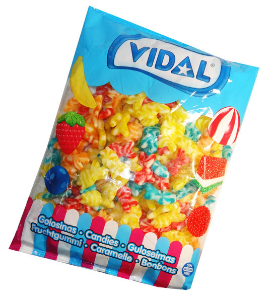 Vidal Swirly Fish, by vidal,  and more Confectionery at The Professors Online Lolly Shop. (Image Number :7518)
