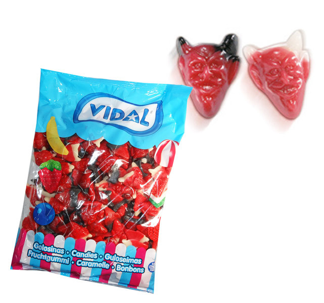 Vidal Red Devils, by Candy Brokers/vidal,  and more Confectionery at The Professors Online Lolly Shop. (Image Number :7513)