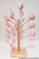 Wooden Lollipop Tree - Small and more Partyware at The Professors Online Lolly Shop. (Image Number :8741)