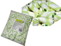 Gummy Filled Marshmallow Twists - Green Apple, by Universal Candy,  and more Confectionery at The Professors Online Lolly Shop. (Image Number :7595)