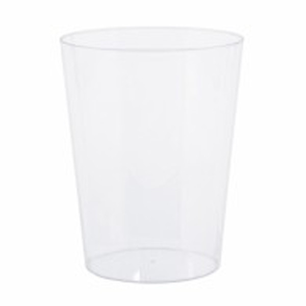 Plastic Candy Jar - Medium Cylinder and more Partyware at The Professors Online Lolly Shop. (Image Number :7573)