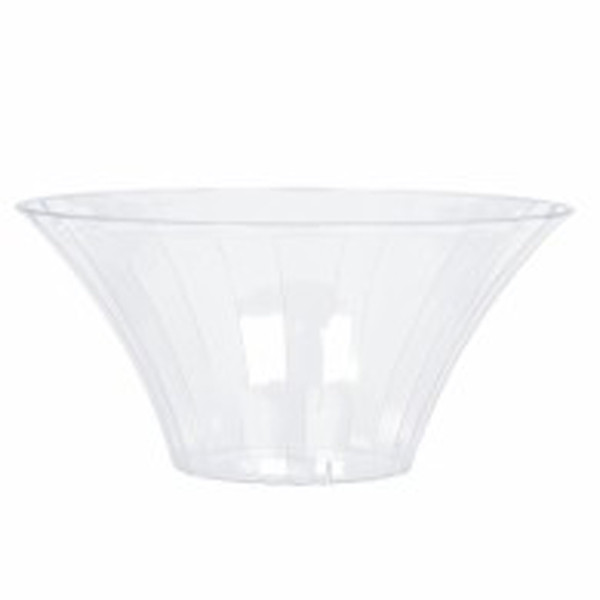 Plastic Candy Buffet Bowl - Flared Medium and more Partyware at The Professors Online Lolly Shop. (Image Number :7572)