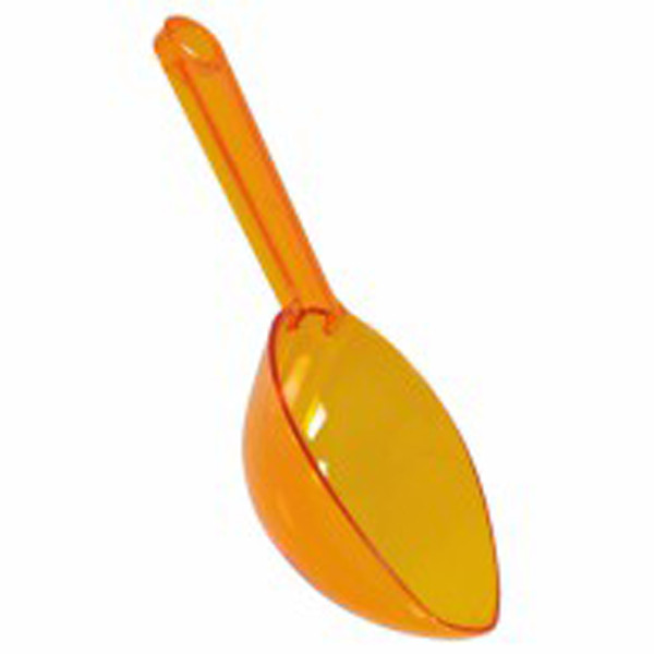 Plastic Lolly Scoop - Orange Peel and more Partyware at The Professors Online Lolly Shop. (Image Number :7536)