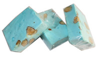 Almond Nougat - Pastel Blue, by ABW Foods,  and more Confectionery at The Professors Online Lolly Shop. (Image Number :7607)