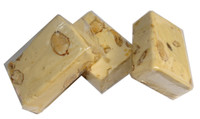 Almond Nougat - Light Brown, by ABW Foods,  and more Confectionery at The Professors Online Lolly Shop. (Image Number :7613)