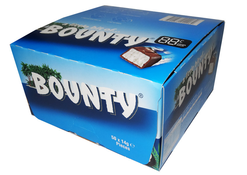 A Little Bit of Bounty, by Mars,  and more Confectionery at The Professors Online Lolly Shop. (Image Number :7851)