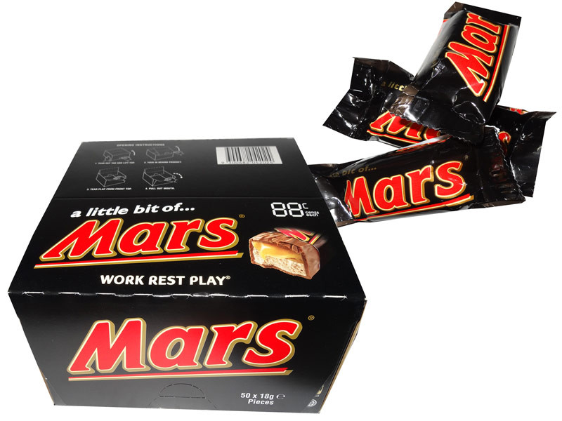 A Little Bit of Mars Bars, by Mars,  and more Confectionery at The Professors Online Lolly Shop. (Image Number :7853)
