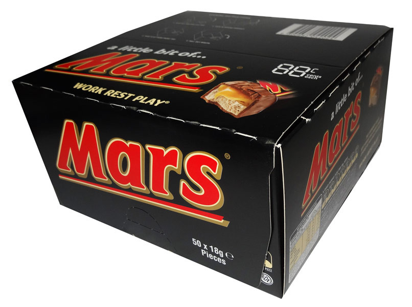 A Little Bit of Mars Bars, by Mars,  and more Confectionery at The Professors Online Lolly Shop. (Image Number :7855)