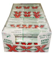 Allens XXX Extra Strong Mint Rolls, by Allens Confectionery,  and more Confectionery at The Professors Online Lolly Shop. (Image Number :8610)