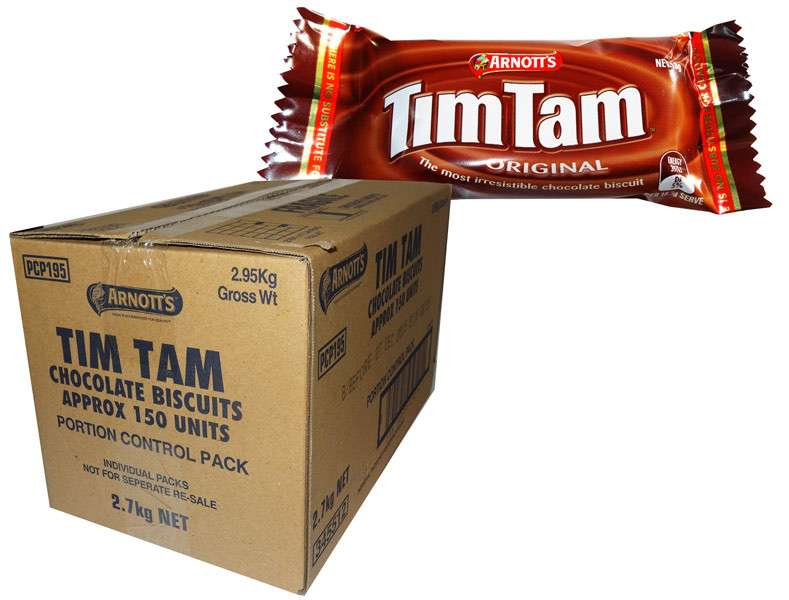 Arnotts Tim Tam Minis, by Arnotts,  and more Snack Foods at The Professors Online Lolly Shop. (Image Number :7686)