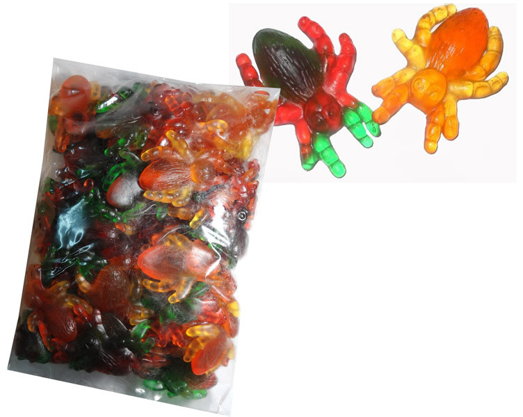 Giant Spiders and more Confectionery at The Professors Online Lolly Shop. (Image Number :7715)