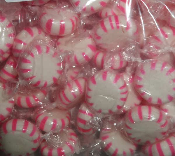 Starlight Pinwheels - Pink and White - Strawberry, by AIT Confectionery,  and more Confectionery at The Professors Online Lolly Shop. (Image Number :7784)