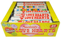 Love Heart rolls Giant, by Swizzles Matlow,  and more Confectionery at The Professors Online Lolly Shop. (Image Number :8178)