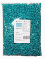 Sweet Treats Mini Jelly Beans - Blue with a Blue Berry Flavour, by Brisbane Bulk Supplies,  and more Confectionery at The Professors Online Lolly Shop. (Image Number :8684)