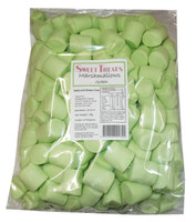 Sweet Treats Marshmallows - Green, by Brisbane Bulk Supplies,  and more Confectionery at The Professors Online Lolly Shop. (Image Number :8197)