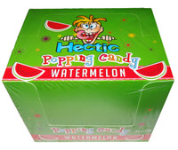 Hectic popping candy - Watermelon and more Confectionery at The Professors Online Lolly Shop. (Image Number :8181)