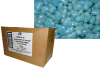Love Heart Shaped Gourmet Jelly Beans - Blue - Blueberry Flavoured (5kg Bulk)