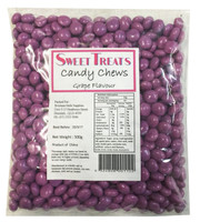 Sweet Treats Candy Chews - Purple, by Brisbane Bulk Supplies,  and more Confectionery at The Professors Online Lolly Shop. (Image Number :8139)