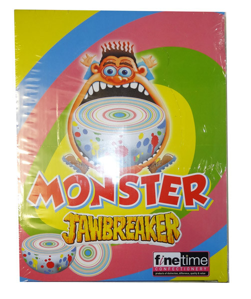 Monster Boulder Jawbreakers and more Confectionery at The Professors Online Lolly Shop. (Image Number :8676)