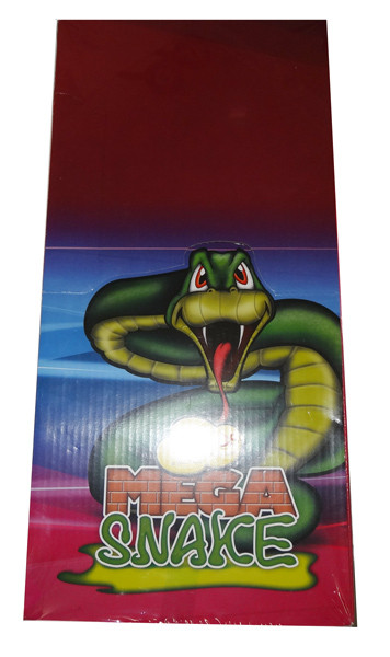 Joo Joos Mega Snakes, by Joo Joo's,  and more Confectionery at The Professors Online Lolly Shop. (Image Number :8160)