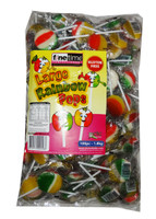 Finetime Rainbow Pops - Large and more Confectionery at The Professors Online Lolly Shop. (Image Number :8112)