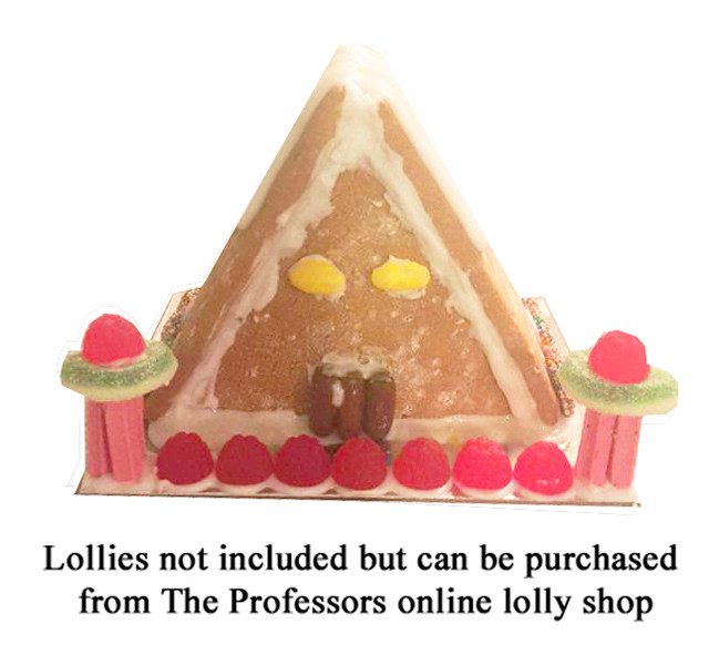 Alpine Gingerbread House Kit and more Snack Foods at The Professors Online Lolly Shop. (Image Number :8100)