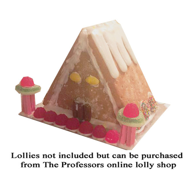 Alpine Gingerbread House Kit and more Snack Foods at The Professors Online Lolly Shop. (Image Number :8105)
