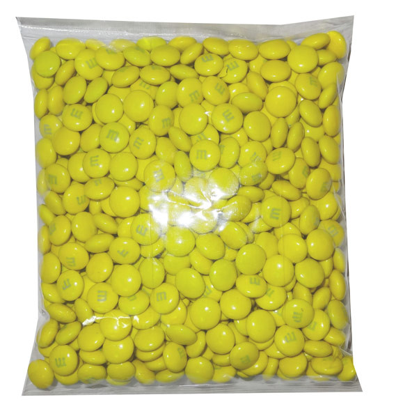 Single Colour M&M s - U.S Yellow and more Confectionery at The Professors Online Lolly Shop. (Image Number :8162)