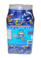 Ka-Bluey Blast Jar - Sour Candy with a Bubble Gum Centre, by AIT Confectionery,  and more Confectionery at The Professors Online Lolly Shop. (Image Number :8680)
