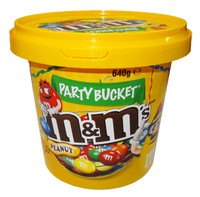M&M Peanut Party Bucket and more Confectionery at The Professors Online Lolly Shop. (Image Number :8349)