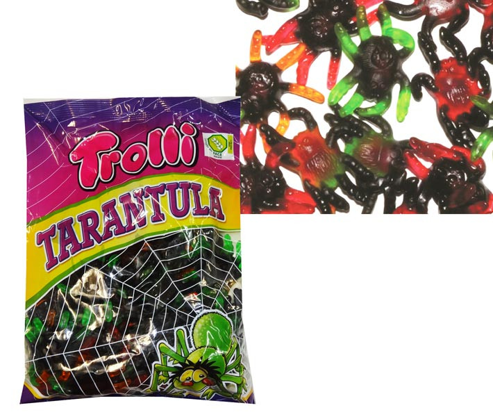 Trolli Tarantulas, by Trolli,  and more Confectionery at The Professors Online Lolly Shop. (Image Number :8616)