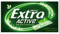 Extra Active - Spearmint Flavour, by Wrigley,  and more Confectionery at The Professors Online Lolly Shop. (Image Number :8467)