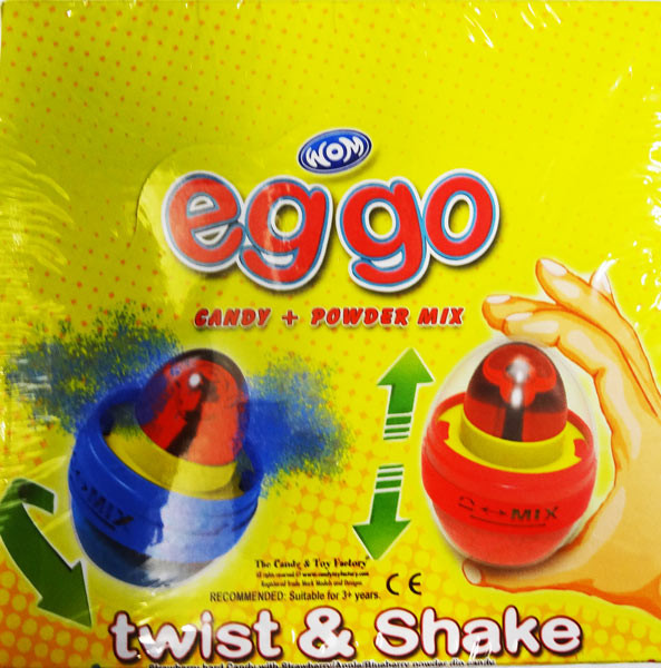Eggo - Candy + Powder Mix and more Confectionery at The Professors Online Lolly Shop. (Image Number :8388)