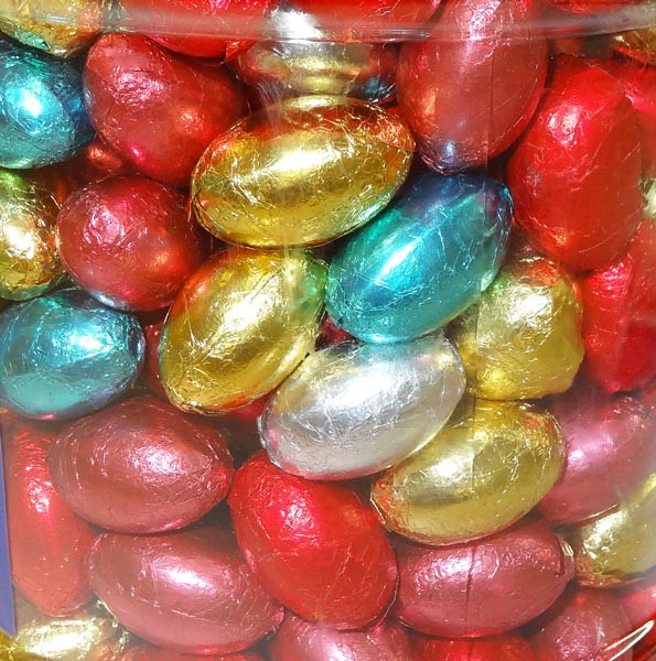 Choco Mini Eggs and more Confectionery at The Professors Online Lolly Shop. (Image Number :8380)