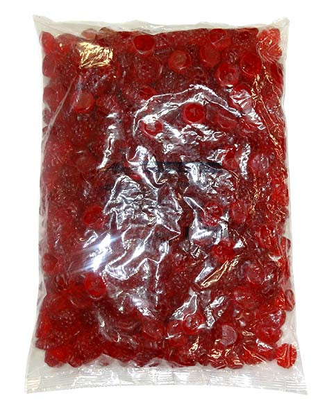 Gummi Berry - Red Raspberry, by Albanese Confectionery,  and more Confectionery at The Professors Online Lolly Shop. (Image Number :9674)