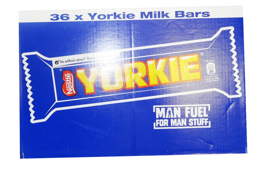 Yorkie, by Nestle,  and more Confectionery at The Professors Online Lolly Shop. (Image Number :9516)