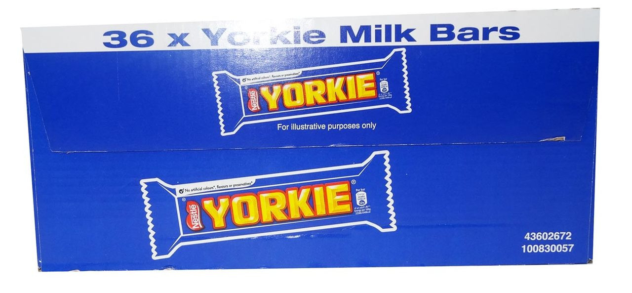 Yorkie, by Nestle,  and more Confectionery at The Professors Online Lolly Shop. (Image Number :9517)