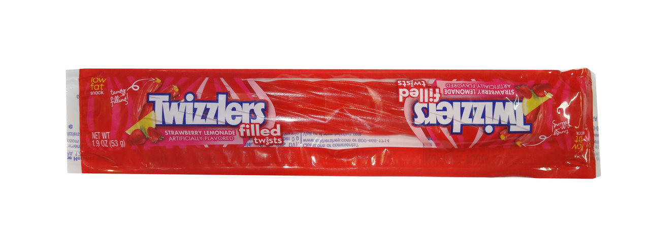 Twizzlers Filled Twists - Strawberry and Lemonade, by Hersheys,  and more Confectionery at The Professors Online Lolly Shop. (Image Number :8472)