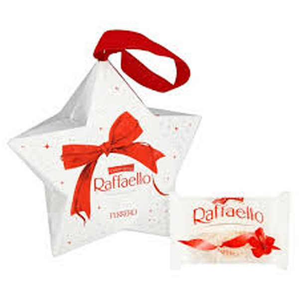 Ferrero Raffaello Star, by Ferrero,  and more Confectionery at The Professors Online Lolly Shop. (Image Number :8481)