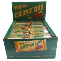 Whittakers Coconut Slab, by Whittakers,  and more Confectionery at The Professors Online Lolly Shop. (Image Number :8577)