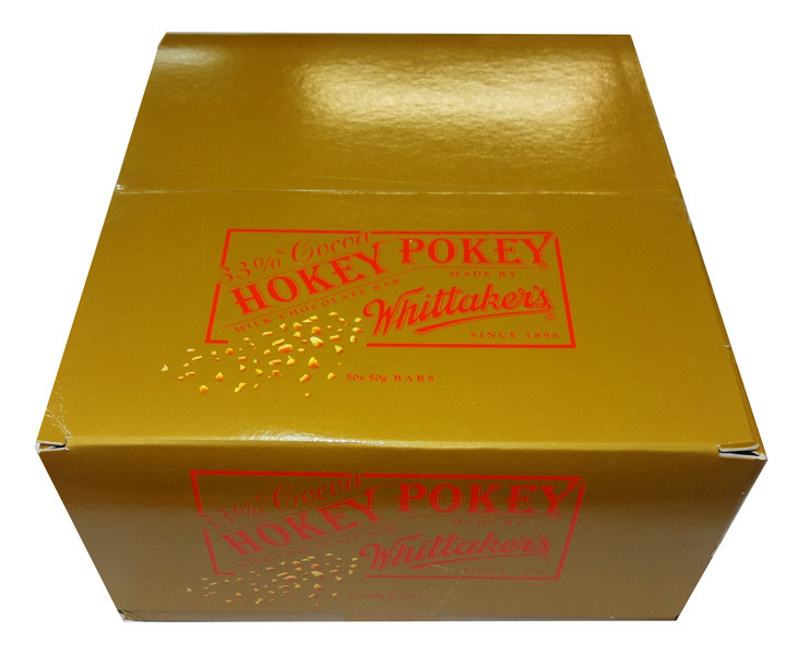 Whittakers Hokey Pokey Slab, by Whittakers,  and more Confectionery at The Professors Online Lolly Shop. (Image Number :8575)